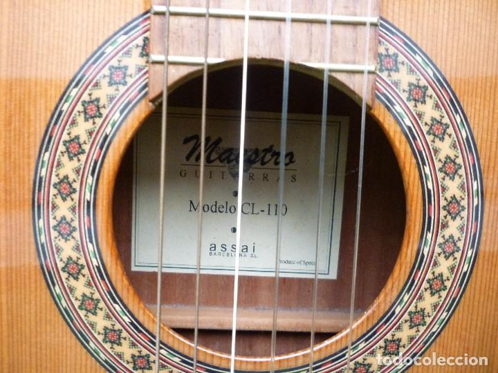 Instrumentos musicales: Guitarra clásica antigua Maestro Assai modelo CL 110 - Foto 3 - 112700699