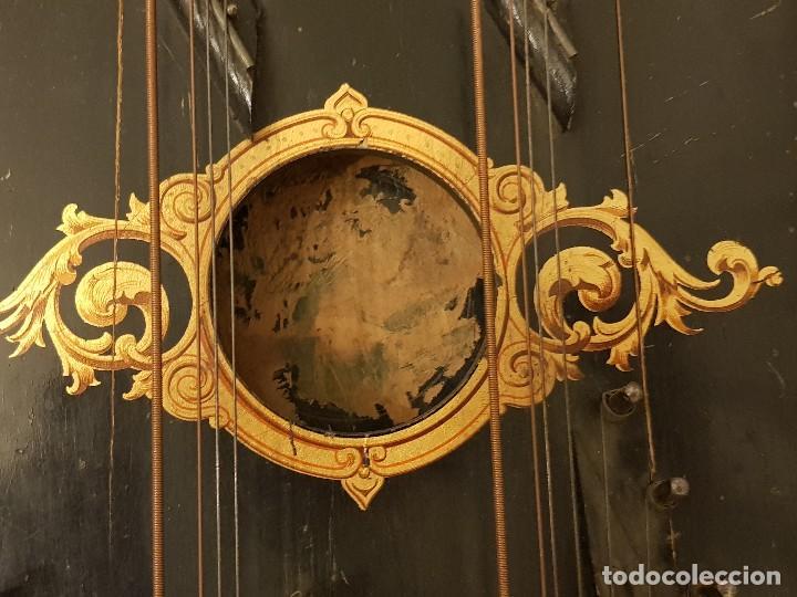 Instrumentos musicales: Cítara modelo AEOL por A. Eichler (Berlín-Nueva York). American Harp-Zither. Año 1900 - Foto 2 - 113313943