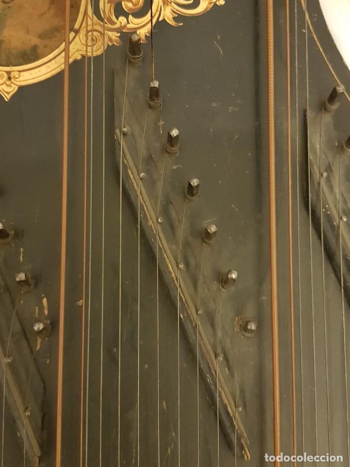Instrumentos musicales: Cítara modelo AEOL por A. Eichler (Berlín-Nueva York). American Harp-Zither. Año 1900 - Foto 20 - 113313943
