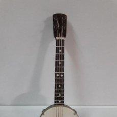 Instrumentos musicales: BANJO - MINIATURA . ALTURA 13,5 CM. Lote 113347415