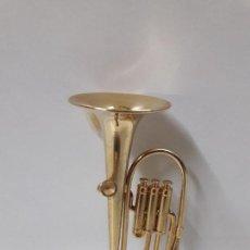 Instrumentos musicales: TUBA - MINIATURA . ALTURA 9,5 CM. Lote 113349231