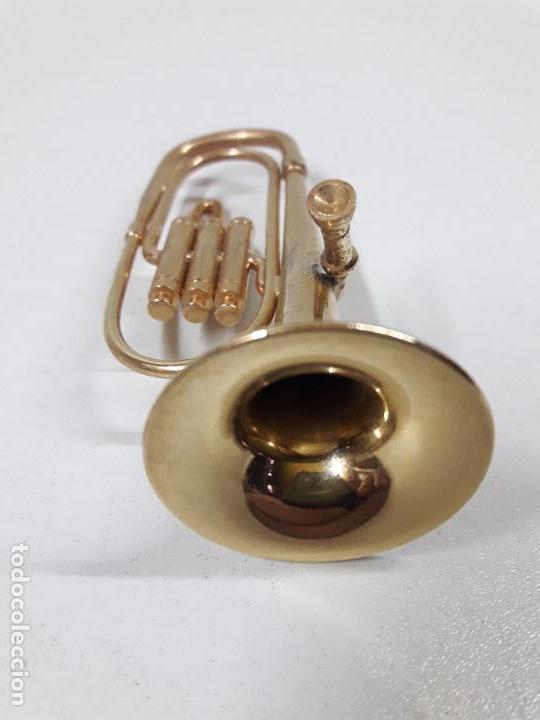 Instrumentos musicales: TUBA - MINIATURA . ALTURA 9,5 CM - Foto 5 - 113349231