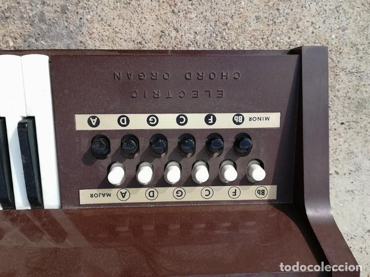 Instrumentos musicales: organo minor bb electric chord organ funciona¡¡ - Foto 2 - 113643799