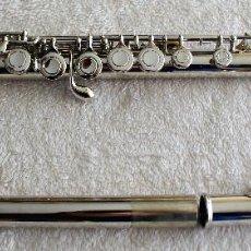 Instrumentos musicales: FLAUTA TRAVESERA ACERO INOX, LLAVE ABIERTA USA ----¡¡¡PROMOCION AHORRE UN 20%!!!----. Lote 113858363