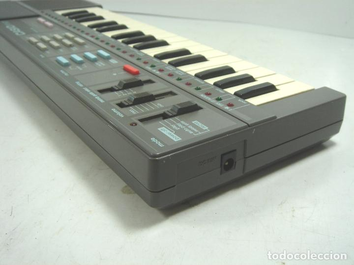 Instrumentos musicales: ORGANO TECLADO PIANO ELECTRONICO -CASIO PT-87 +ROM PACK RO-551- JAPAN 80s - PT87 - Foto 5 - 113897439