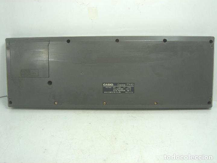 Instrumentos musicales: ORGANO TECLADO PIANO ELECTRONICO -CASIO PT-87 +ROM PACK RO-551- JAPAN 80s - PT87 - Foto 7 - 113897439