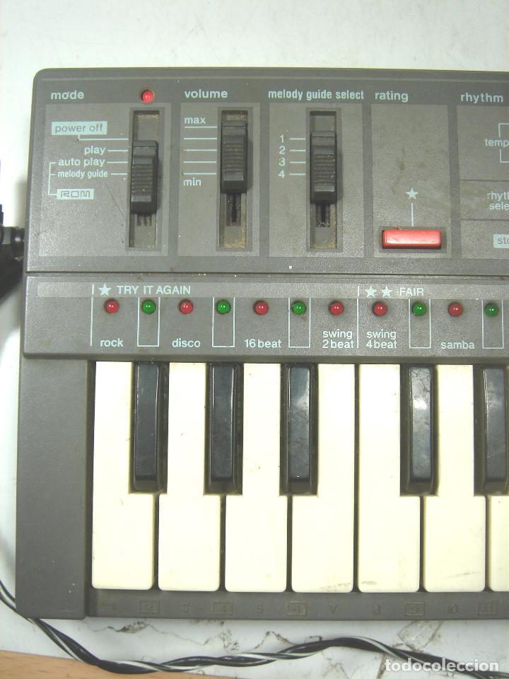 Instrumentos musicales: ORGANO TECLADO PIANO ELECTRONICO -CASIO PT-87 +ROM PACK RO-551- JAPAN 80s - PT87 - Foto 10 - 113897439