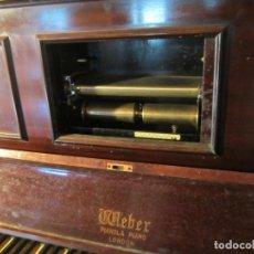 Instrumentos musicales: PIANOLA WEBBER. Lote 114442243