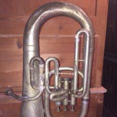 Instrumentos musicales: ANTIGUA TUBA UBEDA JAEN - M.MIÑANA E HIJO. Lote 114681854