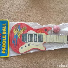 Instrumentos musicales: WACKY PADDLE BALL IMPERIAL 1989 HEAVY DUTY RAQUETA PURE RUBBER TETHER . Lote 114717595