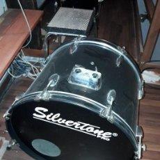 Instrumentos musicales: BATERIA SILVERTONE. Lote 114933867