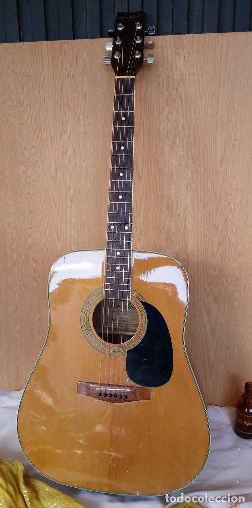 GUITARRA ACÚSTICA WESTERN BLOOMFIELD BL-208. USA VINTAGE SERIES. SUENA IMPRESIONANTE. (Música - Instrumentos Musicales - Cuerda Antiguos)