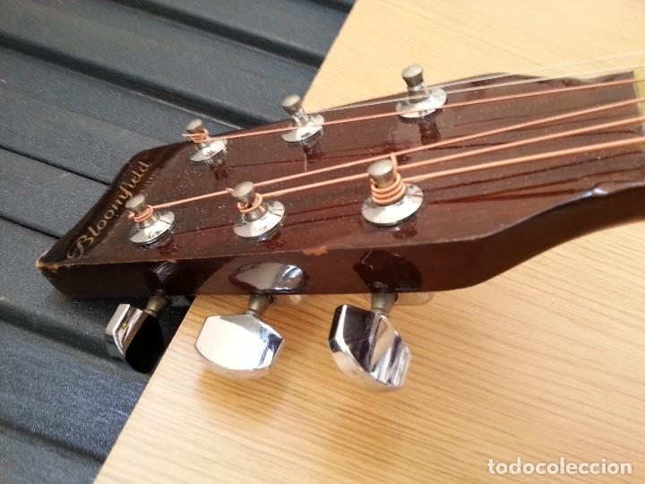 Instrumentos musicales: Guitarra acústica WESTERN BLOOMFIELD BL-208. USA VINTAGE SERIES. SUENA IMPRESIONANTE. - Foto 3 - 115287843