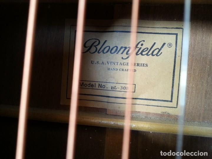 Instrumentos musicales: Guitarra acústica WESTERN BLOOMFIELD BL-208. USA VINTAGE SERIES. SUENA IMPRESIONANTE. - Foto 5 - 115287843