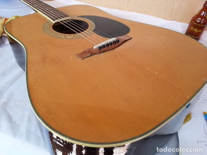 Instrumentos musicales: Guitarra acústica WESTERN BLOOMFIELD BL-208. USA VINTAGE SERIES. SUENA IMPRESIONANTE. - Foto 13 - 115287843