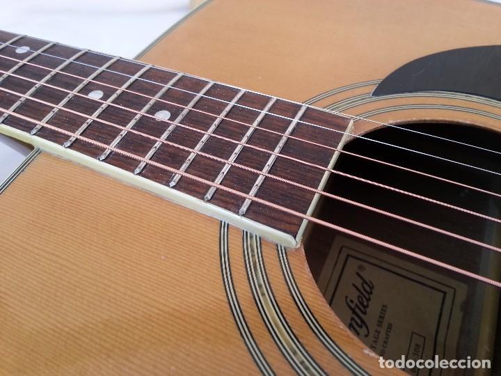 Instrumentos musicales: Guitarra acústica WESTERN BLOOMFIELD BL-208. USA VINTAGE SERIES. SUENA IMPRESIONANTE. - Foto 14 - 115287843