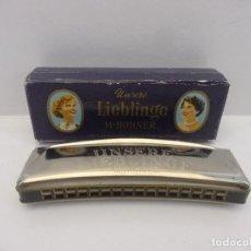 Instrumentos musicales: ARMÓNICA LIEBLINGE 32 TONOS. Lote 115292011