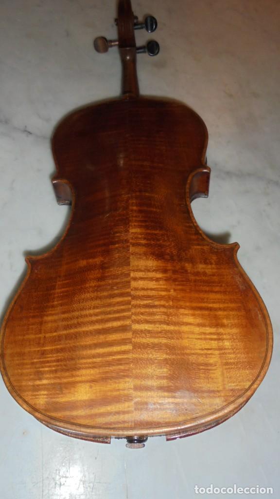 Instrumentos musicales: (M) ANTIGUO VIOLIN 61X21 CM. VER FOTOGRAFIAS ESTADO - Foto 2 - 115594195