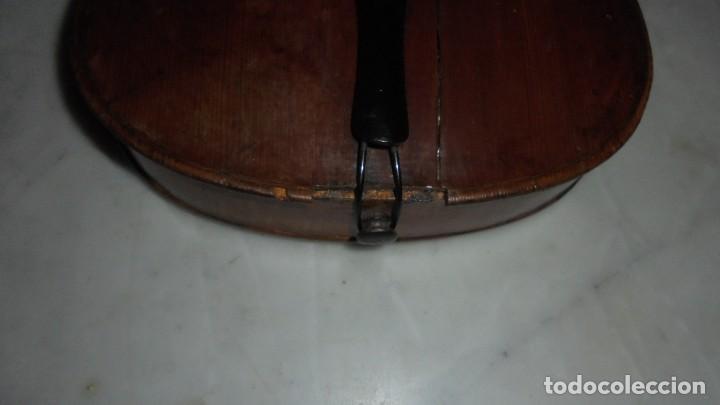 Instrumentos musicales: (M) ANTIGUO VIOLIN 61X21 CM. VER FOTOGRAFIAS ESTADO - Foto 4 - 115594195