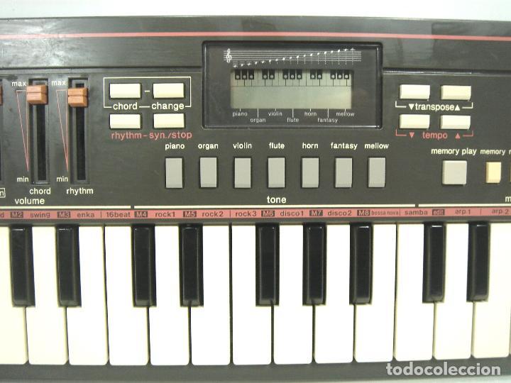 Instrumentos musicales: ORGANO TECLADO -CASIO PT-31 SIN MEMORIA - JAPAN 80S - PT31 - PIANO ELECTRONICO - Foto 4 - 115736531