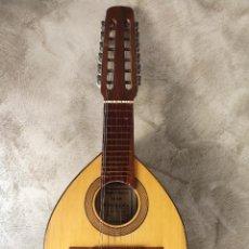 Instrumentos musicales: ANTIGUA BANDURRIA JOSÉ PENADES VALENCIA. Lote 116289355