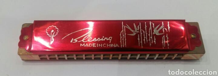 Instrumentos musicales: HARMÓNICA BLESSING. NUEVA EN CAJA. SIN ESTRENAR. AÑOS 80. - Foto 5 - 116568910
