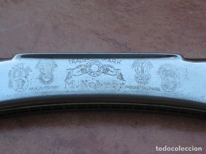 Instrumentos musicales: Harmonica M.Hohner. 15cm por 3cm. - Foto 3 - 116703599