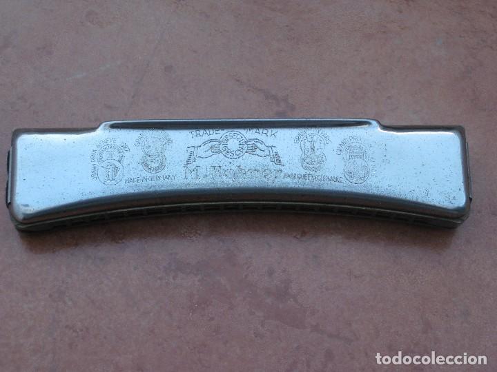 Instrumentos musicales: Harmonica M.Hohner. 15cm por 3cm. - Foto 4 - 116703599