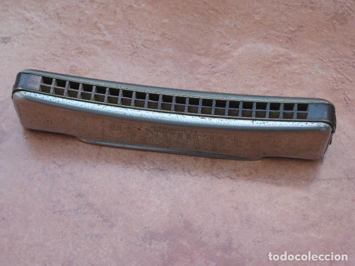 Instrumentos musicales: Harmonica M.Hohner. 15cm por 3cm. - Foto 7 - 116703599