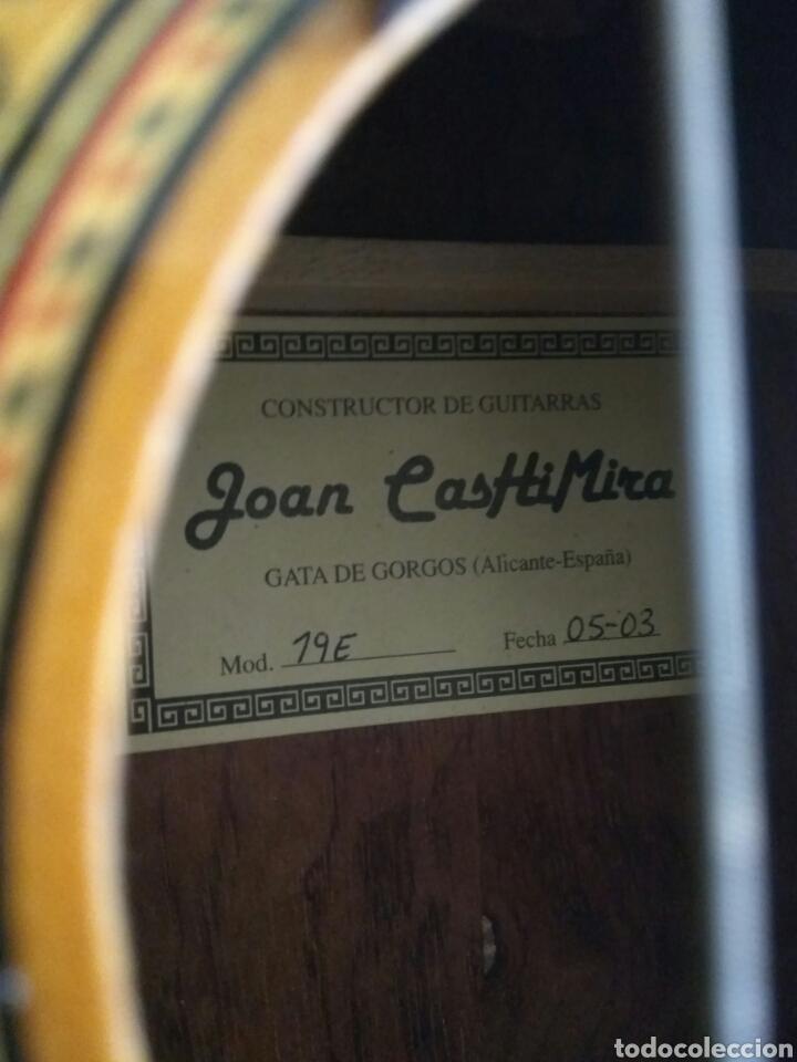 Instrumentos musicales: GUITARRA CLÁSICA JOAN CASHIMIRA MODELO 19-E - Foto 2 - 136350992
