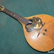 Instrumentos musicales: ANTIGUA MANDOLINA, 63 CM DE LARGO.. Lote 116958983