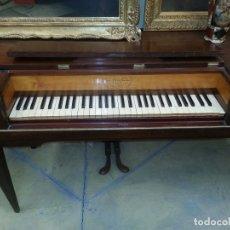 Instrumentos musicales: PIANO FORTE DE MESA DE HOSSESCHRUEDERS DE 1817. Lote 111481471