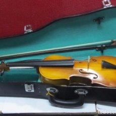 Instrumentos musicales: VIOLÍN CON SU FUNDA. Lote 117216891