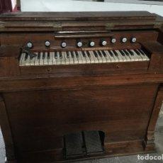 Instrumentos musicales: ANTIGUO ORGANO , ARMONIO IGLESIA. Lote 117653987
