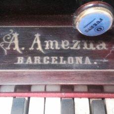 Instrumentos musicales: ARMONIO AQUILINO AMEZUA. Lote 117730871