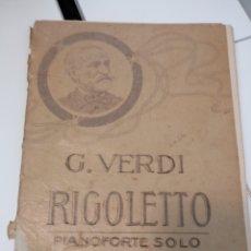 Instrumentos musicales: OBRA COMPLETA ORIGINARIA DE 1851 VENECIA TEATRO LA FENICE. Lote 117774284