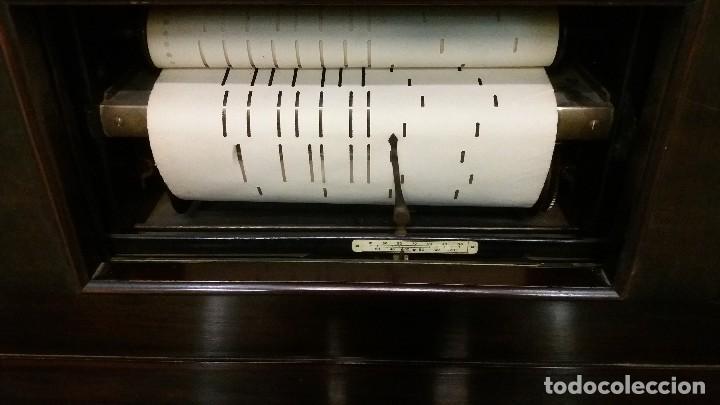 Instrumentos musicales: Preciosa pianola Steck - Foto 2 - 117914487