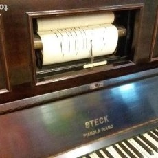 Instrumentos musicales: PRECIOSA PIANOLA STECK . Lote 117914487