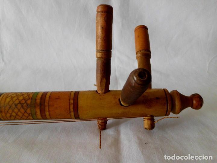 Instrumentos musicales: ANTIGUO INSTRUMENTO MUSICAL TRES CUERDAS ( LAUD) - Foto 5 - 118034755