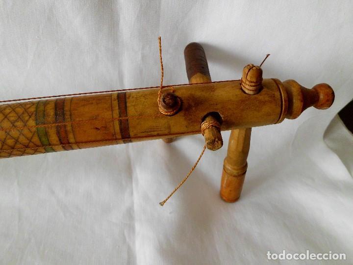 Instrumentos musicales: ANTIGUO INSTRUMENTO MUSICAL TRES CUERDAS ( LAUD) - Foto 8 - 118034755