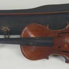 Instrumentos musicales: VIOLÍN. COPIA DE ANTONIUS STRADIVARIUS. FUNDA ORIGINAL. SIGLO XIX-XX. . Lote 118333527