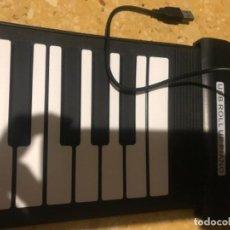 Instruments Musicaux: USB ROLL UP PIANO, PIANO FLEXIBLE PARA EL ORDENADOR. . Lote 118681799