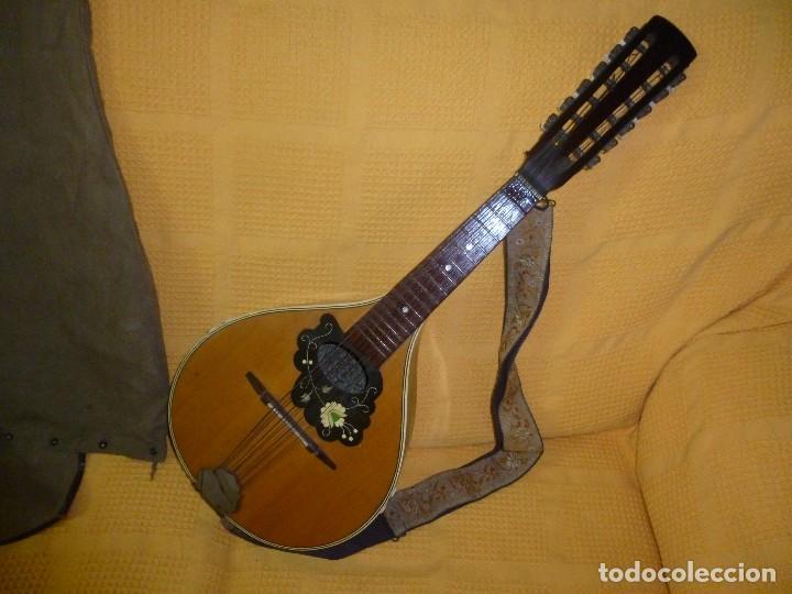 ANTIGUA MANDRIOLA 12 CUERDAS (Música - Instrumentos Musicales - Cuerda Antiguos)