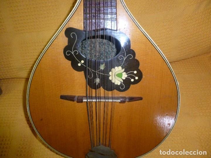 Instrumentos musicales: antigua mandriola 12 cuerdas - Foto 3 - 118779779