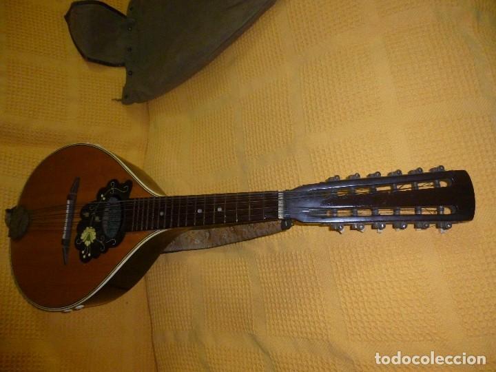 Instrumentos musicales: antigua mandriola 12 cuerdas - Foto 4 - 118779779