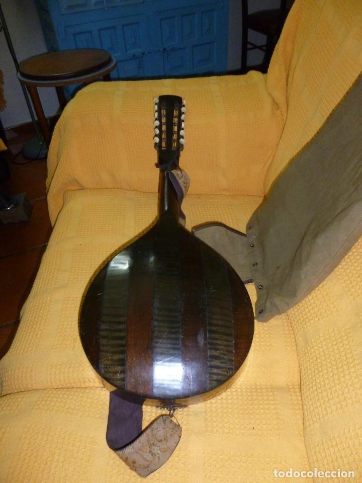 Instrumentos musicales: antigua mandriola 12 cuerdas - Foto 8 - 118779779