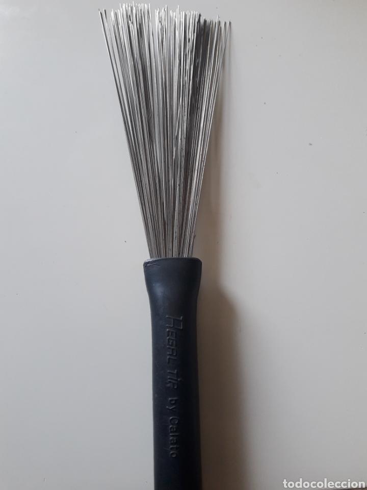 Instrumentos musicales: Escobilla brush regal tip by calato bateria - Foto 2 - 119000199