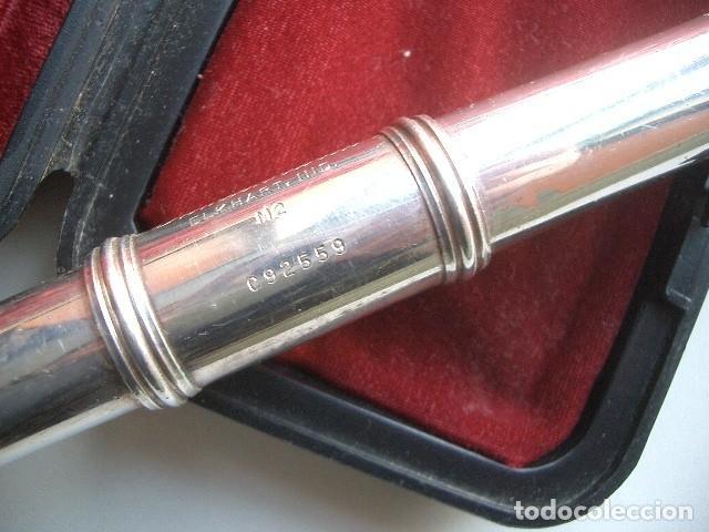 Instrumentos musicales: FLAUTA TRAVERESA Gemeinhardt M2 Plata - Foto 4 - 119325323