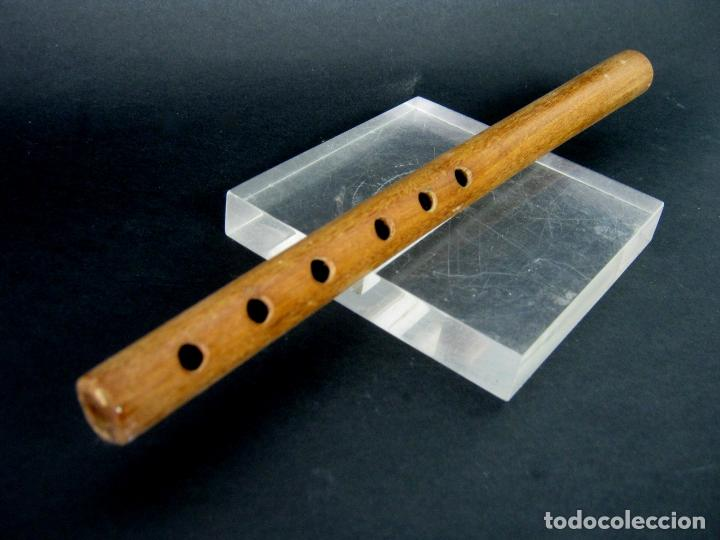 ANTIGUA FLAUTA ARTESANAL 26 CM (Música - Instrumentos Musicales - Viento Madera)