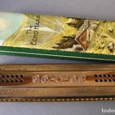 Instrumentos Musicais: ARMONICA ECHO - THE ECHO HARP - HOHNER - C Y G - CON CAJA (22X6,5CM APROX). Lote 120508415